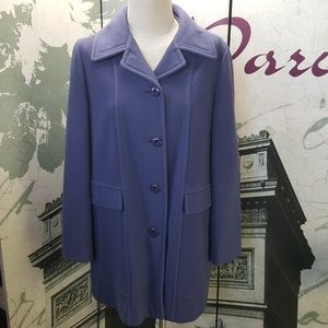 Vintage 60's 100% Wool Trench Coat Size S